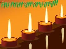Diwali, das Festival von Lichtern stockbilder