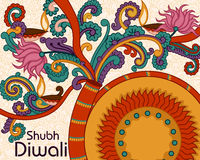 Diwali decorated firecracker Royalty Free Stock Photography