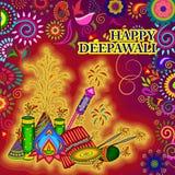 Diwali decorated firecracker Stock Photos