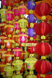 Diwali Decoration. A beautiful decoration of traditional lanterns during the festive occassion of Diwali in India Royalty Free Stock Image