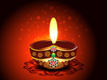 Diwali Deepak Background Royalty Free Stock Photos