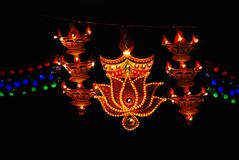 Diwali Deepavali festiwal obrazy stock