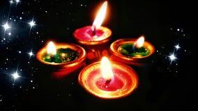 Diwali, deepawali lampa dla świętowania w India lub diyas lub zdjęcia royalty free