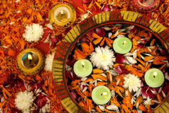 Diwali Dekoration Stockbild