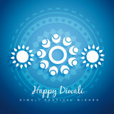 Diwali design Stock Photography