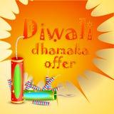 Diwali Dhamaka Offer Stock Photos