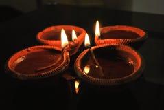 Diwali diya Obrazy Royalty Free
