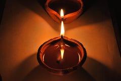 Diwali diya Fotografia Stock