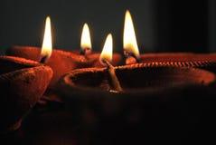 Diwali diya Zdjęcie Royalty Free