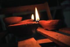 Diwali diya Obraz Stock