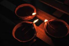 Diwali diya Zdjęcia Royalty Free