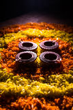 Diwali diya or auspecious oil lamp made up of teracotta Stock Images