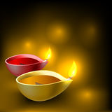 Diwali diya background Royalty Free Stock Photo