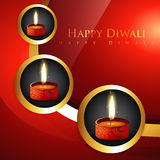 Diwali diya background Stock Photo