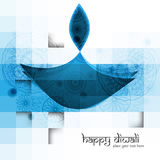 Diwali diya blue colorful  Royalty Free Stock Photos