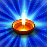 Diwali diya illustration Royalty Free Stock Images