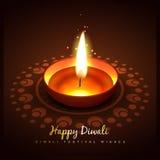 Diwali diya illustration Royalty Free Stock Photography