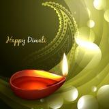 Diwali diya illustration Royalty Free Stock Image