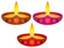Diwali Diya Set Image stock