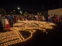 Diwali em Googleplex Fotografia de Stock