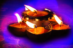 Diwali Farben Lizenzfreies Stockfoto