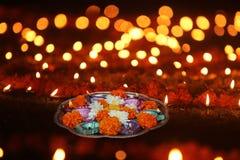 Diwali-Feier-Dekoration stockfotos
