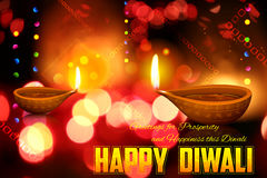 Diwali-Feiertagshintergrund Lizenzfreie Stockfotografie