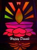 Diwali felice Fotografie Stock Libere da Diritti