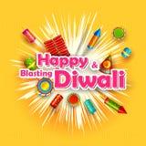 Diwali felice Fotografie Stock