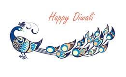 Diwali feliz Fotografia de Stock