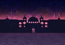 Diwali feliz Diwali feliz Festival indiano tradicional Imagem de Stock
