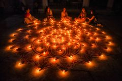 Free Diwali Festival At India. Stock Image - 130932281