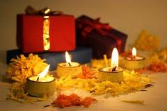 Diwali festival av lampor Arkivbilder