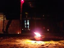 Diwali festival av ljus arkivbild
