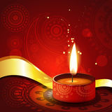 Diwali festival background. Beautiful artistic diwali diya illustration