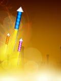 Diwali festival background. Stock Images