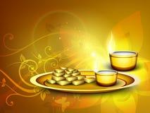 Diwali festival background. Royalty Free Stock Image