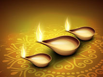 Diwali festival background.EPS 10. Stock Image