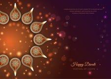 Diwali Festival Background stock illustration