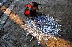 Diwali-Festival bei Indien lizenzfreie stockfotografie