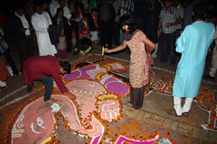 Diwali Festival Celebrations Stock Photo