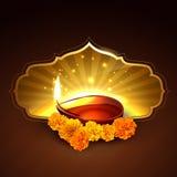 Diwali festival design Royalty Free Stock Photos