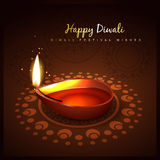 Diwali festival design Stock Image