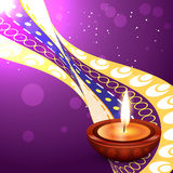 Diwali festival design royalty free illustration