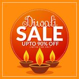 Diwali festival discount and sale poster template with three diy. A Stock Image