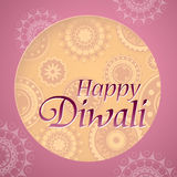 Diwali festival greeting card Stock Photos