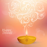 Diwali festival greeting card Stock Images