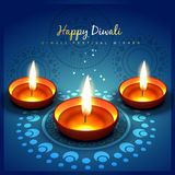 Diwali festival greetung Stock Photography
