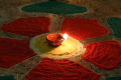Diwali the festival of lights Royalty Free Stock Photography