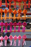 Diwali festival in Mumbai, India. Traditional lantern close ups on street side shops on the occasion of Diwali festival in Mumbai, India Stock Images